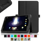 "Folio Case Slim Fit PU Leather Stand Cover for Sprint Slate 8"" Tablet (AQT80)"