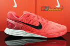 NIKE LUNARGLIDE 7 SEVEN BRIGHT CRIMSON BLACK GYM RED 747355-600 NEW SIZE 8.5