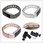 Stainless Steel Bracelet Wrist Watch Band Metal Strap with Tool For Fitbit Alta