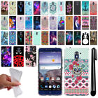 For ZTE Grand X Max 2 2nd Gen/ Kirk Z988 Art Design TPU SILICONE Case Cover +Pen