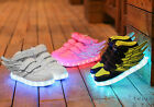 Wings Boys Girls LED Shoes Luminous Children Sport Sneakers Kids Shoes light up