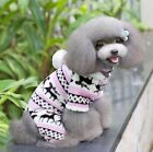 Warm Winter Soft Pet Dog Cat Puppy Sweater Hoodie Jumpsuit Apparel Coat Clothes