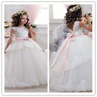 Flower Girl Dresses for Wedding Pageant Prom Birthday Communion BallGown Party M