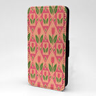 Tulips Print Design Pattern Flip Case Cover For Sony Xperia - P647