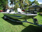 1995 TRACKER Bass Boat TX-17' 2002 Mercury Great Condition w trailer Low Reserve