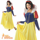 Adult Fairytale Snow Princess Costume Ladies Fancy Dress Outfit New
