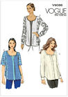 Vogue Very Easy 9086 Easy to Make Loose Tunic Top Blouse Sewing Pattern V9086
