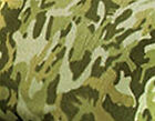 Green CAMO Plush Fleece Sheet Set Twin Full Queen NEW