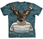 Reindeer Shirt, I Love Christmas Ugly Sweater, Funny X-Mas T, Mountain, Sm - 5X