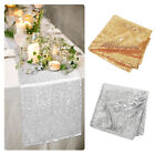 275 x 30cm Sparkly Bling Sequin Table Runner Party Wedding Banquet Table Decor