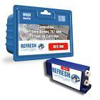 COMPATIBLE PITNEY BOWES RED 767-8RN / 766-8 FRANKING MACHINE INK CARTRIDGE