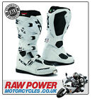TCX Comp Evo Motorcycle Motorbike Boots - White
