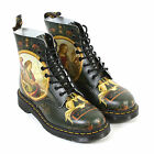 Dr Martens Unisex Pascal Di Paolo Renaissance 8-Eye Leather Boot Multi