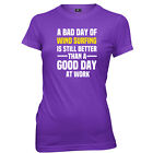 A Bad Day Of Wind Surfing Is Still Better Womens T-Shirt