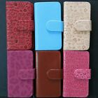 New Wallet flip case cover Skin for Sony Xperia ZR C5502 C5503 M36H card slots