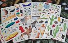 Creative Memories Block Sticker Sheet~U Choose One~Pets & Wild Animals
