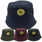 'Reni' Lemon Embroidered Bucket Hat - The Rose Bands Tribute Anniversary Stone