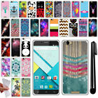 For BLU Studio Energy D810 TPU SILICONE Rubber Soft Protective Case Cover + Pen