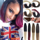 Premium Seamless Weft Tape-in Dip Dye Ombre Remy Human Hair Extensions T Colors