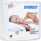 Mattress Encasement Water Bed Bug Dust Mite Proof Hypoallergenic Zippered Cover image