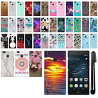 "For Huawei P9 Lite 5.2"" VNS-L31 VNS-L21 PATTERN HARD Back Case Phone Cover + Pen"