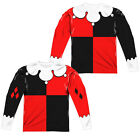 BATMAN HARLEY QUINN COSTUME Adult Men's Long Sleeve Halloween Tee Shirt SM-3XL $37.06 USD on eBay