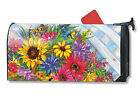 Blooming Basket Spring Floral Large / Oversized Magnetic Mailbox Cover