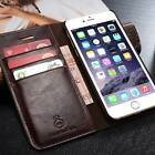 Genuine Leather Luxury Magnetic Wallet Flip Case Cover Holder For iPhone 7 Plus