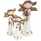 Angel Christmas Decoration Resin Charming Cute Gold Wings 13/16/22cm