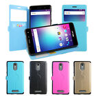 4 Colors Windows PU Stander Card Solt Pu Cover Case For BLU VIVO 5R