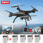 SYMA X5SW 6-Axis Quadcopter Drone Real Time Wifi HD Camera View RC Helicopter