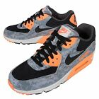 Nike Air Max 90 PRM Premium Blue Fox Orange Mens Running Shoes 700155-400