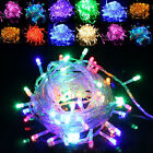 Outdoor Xmas Party Decoration Colorful 100 Leds Waterproof LED String Light 10M