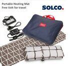SOLCO Portable Free Volt Carbon Heating Mat for Oversea trip & Outdoor