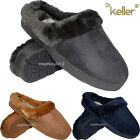 LADIES FUR LINED MULES DR KELLER SLIPPERS WARM LINING CLOSED TOE SHOES SIZES 3-8