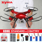 Syma X8HG 2.4G 4CH 6-Axis Gyro RC Quadcopter 8MP HD GoPro Camera Drone Headless