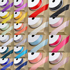 100Yards Solid Color 3/8'' 10mm Grosgrain Ribbon  Gift Wrap Decoration C39S