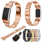 Replacement Metal Stainless Wrist Watch Band Strap Clasp For Fitbit Charge 2 New