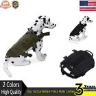 Adjustable Tactical Military Army  Molle Dog Vest Harness Training Vest