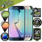 Samsung Galaxy S6 Edge 32 64 128 GB Black White Gold Green Smartphone As New