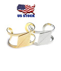 New Women Gold or Silver Plated Jewelry Fashion Cuff Design Bracelet