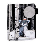 Sly Winter Fox - Small Zipper Wallet  - Shagwear - New