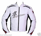 HAYABUSA SUZUKI Motorbike Leather Motorcycle Biker Racing Jacket Sport CE XS-4XL