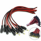 5/10/20pcs 5.5x2.1mm 12V Male DC Male Female Power Jack Connector Cable Wire