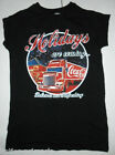 PRIMARK LADIES COCA COLA HOLIDAYS ARE COMING T SHIRT TEE SHIRT TOP UK 6 - 10 NEW