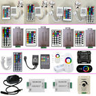 LED Controller Wireless IR RF Amplifiers Dimmer RGB for 3528 5050 Strip Lights