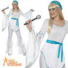 Super Trooper Costume ABBA Agnetha 1970s Adult Womens Ladies Fancy Dress Outfit
