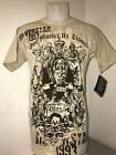 AUTHENTIC SILVERSTAR UFC MENS T SHIRT- TAN WITH SILVERSTAR LOGO BRAND NEW