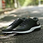 Men's Solid Lace Up Casual Athletic Korean Fashion Students Sports Running Shoes
