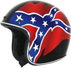 AFX FX-76 Rebel Street Motorcycle Half Helmet Black